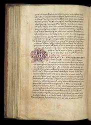 Decorated Initial, In St. Gregory's Sermons On Ezekiel f.85v